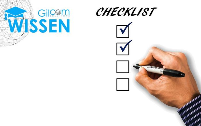 Checkliste Todo Leitfaden Amazon FBA Gilcom Solutions